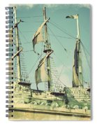 Asbury Park Convention Hall Ship Spiral Notebook