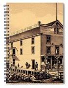 Asbury Park New Jersey Ormerod Boat Builder Spiral Notebook