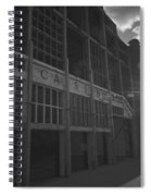 Asbury Park Nj Casino Black And White Spiral Notebook