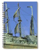Asbury Park Nj Convention Hall Ship  Spiral Notebook