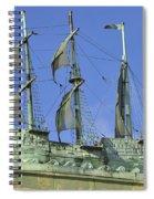 Asbury Park Nj Convention Hall Ship  Spiral Notebook