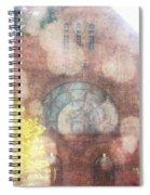 Ascending Angels Spiral Notebook