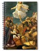 Ascension Of Christ Spiral Notebook