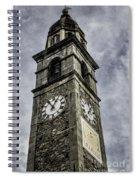 Ascona Clock Tower Spiral Notebook