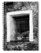 Ascona Window Bw Spiral Notebook