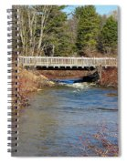 Ash Brook And Bridge Spiral Notebook