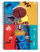 Ashanti Spiral Notebook