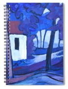 Ashcroft Manor Buildings Spiral Notebook