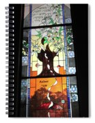 Asher Food Will Be Riches Spiral Notebook