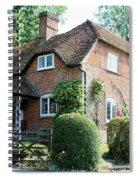 Ashers Farmhouse Five Bells Lane Nether Wallop Spiral Notebook