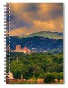 Asheville North Carolina Spiral Notebook