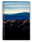 Asheville Skyline Spiral Notebook