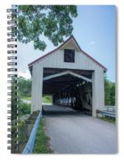 Ashtabula Collection - Mechanicsville Road Covered Bridge 7k0207 Spiral Notebook