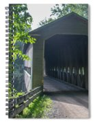 Ashtabula Collection - Middle Road Covered Bridge 7k01959 Spiral Notebook