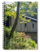 Ashtabula Collection - Olin's Covered Bridge 7k01977 Spiral Notebook