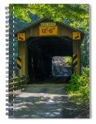 Ashtabula Collection - Olin's Covered Bridge 7k01978 Spiral Notebook
