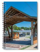 Ashtabula Collection - West Liberty Covered Bridge 7k02064 Spiral Notebook