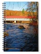 Ashuelot Covered Bridge Scene Spiral Notebook