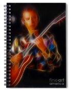Asia-steve-gc24-fractal Spiral Notebook