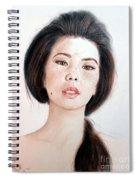Asian Beauty Spiral Notebook