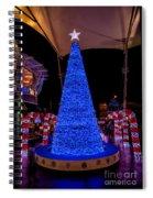 Asian Christmas Display Spiral Notebook