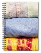 Asian Cloths Spiral Notebook