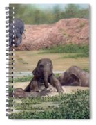 Asian Elephants - In Support Of Boon Lott's Elephant Sanctuary Spiral Notebook