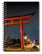Asian Fireworks Spiral Notebook