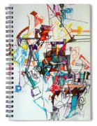 Asking For A Widening Of Thought 2 Spiral Notebook