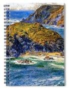 Aspargus Island Spiral Notebook