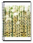 Aspen Colorado Abstract Square 3 Spiral Notebook