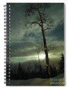 Aspen In Moonlight Spiral Notebook