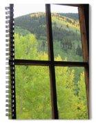 Aspens In Ashcroft Spiral Notebook