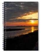 Assateague Sunrise Vertical Spiral Notebook