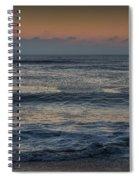 Assateague Waves Spiral Notebook