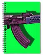 Assault Rifle Pop Art - 20130120 - V3 Spiral Notebook
