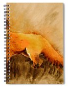 Assessing The Situation Antiqued Spiral Notebook