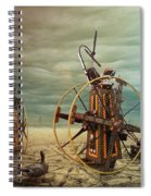 Asterisk Spiral Notebook