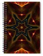 Asteroid Impact Spiral Notebook
