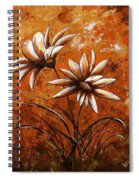 Asters 007 Spiral Notebook