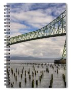 Astoria Bridge Spiral Notebook
