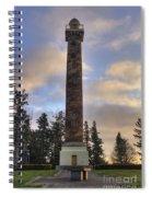 Astoria Column Spiral Notebook