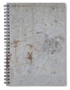 Astract Concrete 1 Spiral Notebook