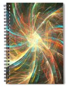 Astral Flower Spiral Notebook