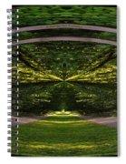 Astral Garden Entrance Spiral Notebook
