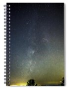 Astro Photography Milky Way Spiral Notebook