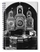 Astronomical Clock, C1750 Spiral Notebook