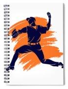 Astros Shadow Player2 Spiral Notebook