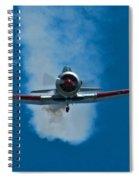 At-6 Texan  Spiral Notebook