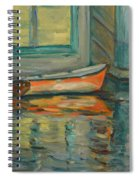 At Boat House 2 Spiral Notebook